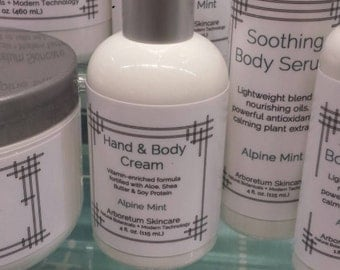 Hand & Body Cream 4oz