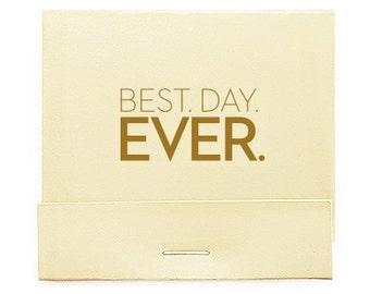 lot de 50 meilleur jour jamais imprimer les cartons dallumettes imprims bote dallumettes personnalis matchs carnet personnalis faveurs - Boite D Allumette Personnalis Mariage