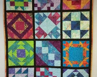 Quilt - Batik Sampler