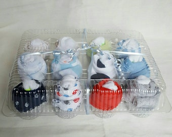 12 Onesie Cupcakes