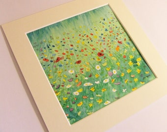 Woodland Meadow No. 2, Original Watercolour painting