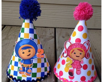 Team Umizoomi Party Hat Team Umizoomi Birthday