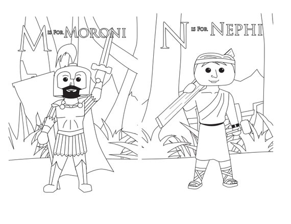 Book of mormon coloring pages ammon ~ Book of Mormon Coloring Pages