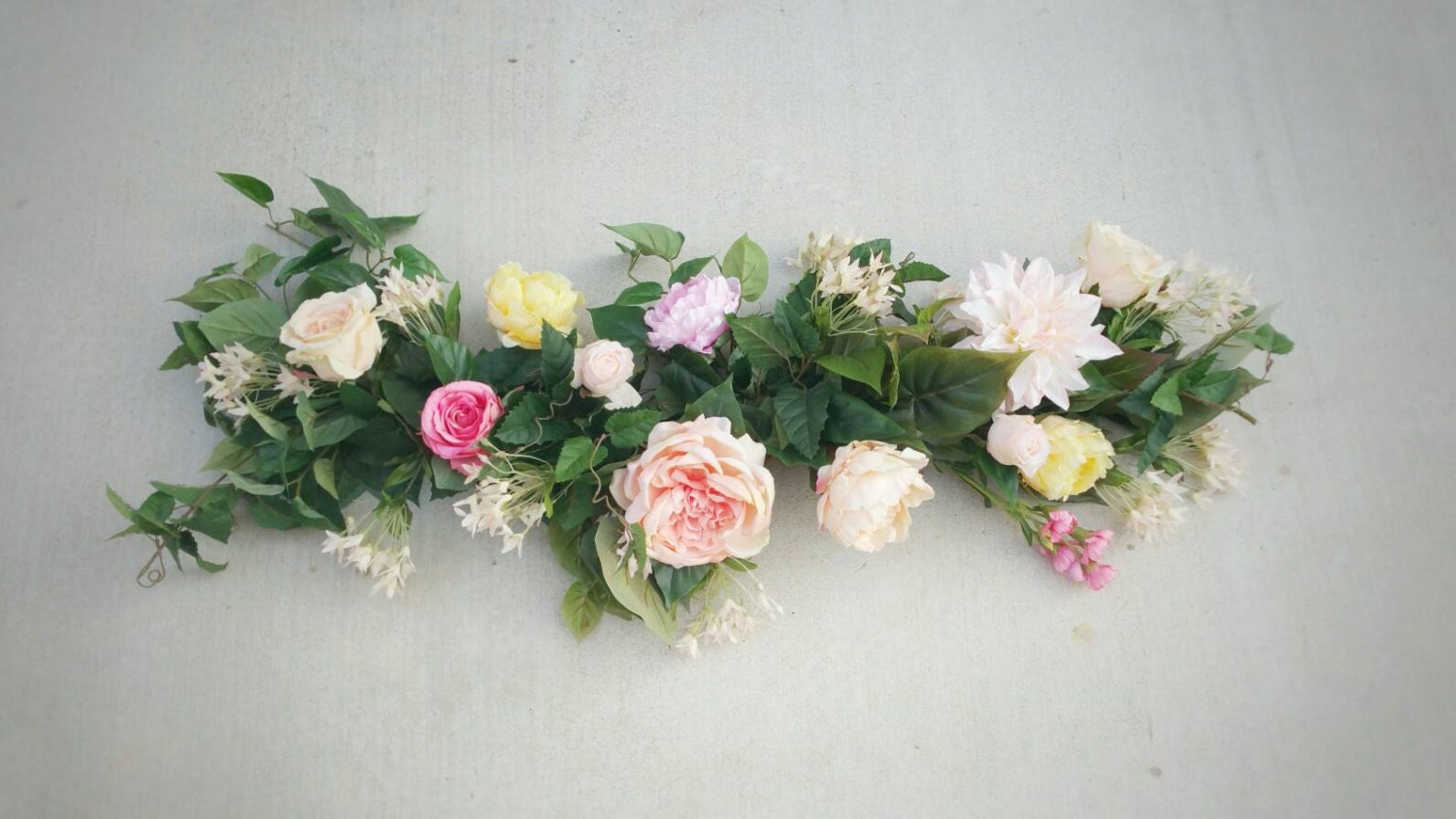 Flower Garland Floral Garland Wedding Garland Silk Flower