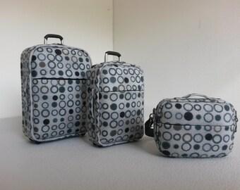 Modern Dollhouse Miniature Luggage Set 1:12