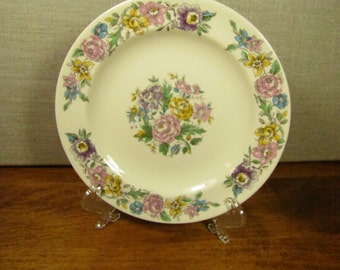 Vintage Salem China Lansdowne Bread and Butter Plate