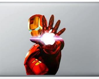 """Sticker """"Iron"""" for MacBook"""