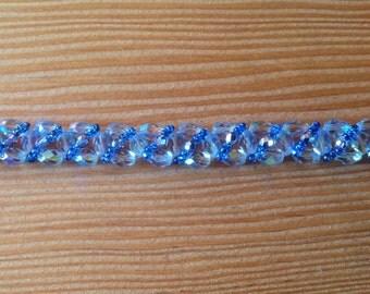 Crystal Handmade Beaded Bracelet