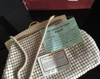 1982 Glomesh Evening Bag with Box