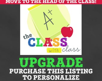 UPGRADE Lunchbox Stationery with personalization