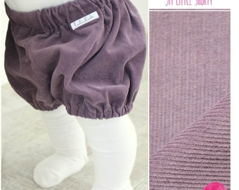 Bloomers diaper pants short bloomers baby shorts buggy shorts corduroy pants baby toddler girl pants shorts beige corduroy purple pink blue