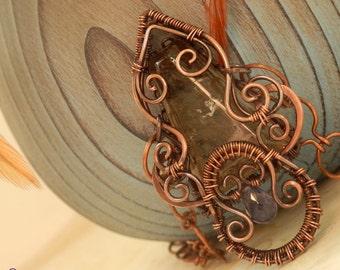 Reeke * smoky necklace
