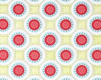 Soul Blossom Sun Flower Medallion Fabric by Benartex