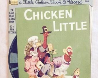Chicken Little by Vivienne Benstead A Little Golden Book 1976