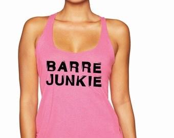 Barre Junkie Racerback Tank Top