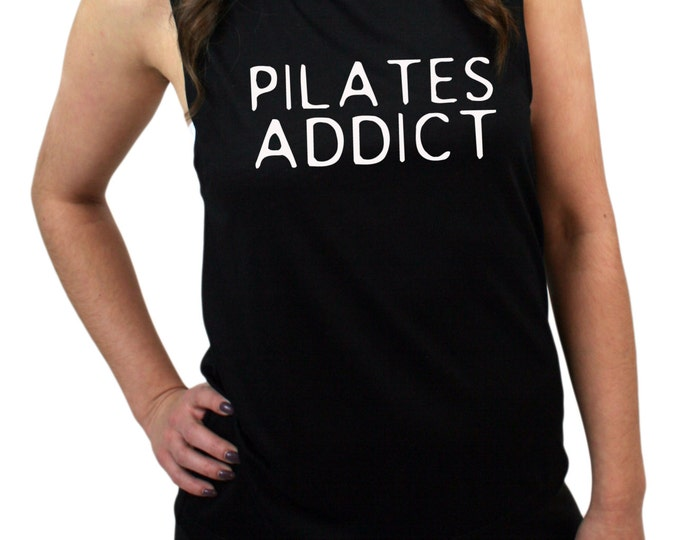 Pilates Addict Muscle Tee