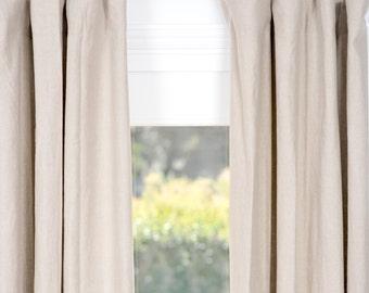 Belgian Linen Drapes oatmeal Belgian Flax linen curtains flax linen curtains linen draperies with lining window treatment window curtain