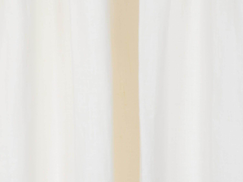 Belgian Linen Drapes Off-White Belgian Flax Linen By