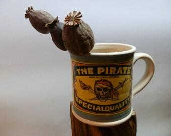 Handmde Cofee/Tea Ceramic mug - The Pirate - Special Quality
