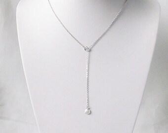 geometric necklace hexagon necklace lariat necklace geometric jewelry