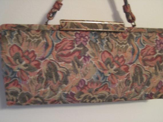 Vtg LaFrance Tapestry Bag