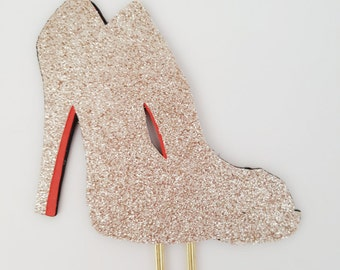 Planner clip, Planner clips, Fashion planner clip, Fashion paper clip, Fashion stationery, Glitter high heels, Stationery, Bookmark,