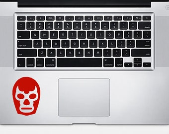 Mexican Wrestling Mask vinyl decal, Luchador sticker, Lucha Libre mask, macbook, iphone, car decal, laptop