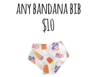Any Bandana Bib
