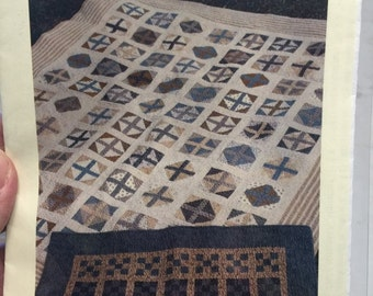 Em & Me Designs Catherines Cross and Coopers Choice quilt pattern
