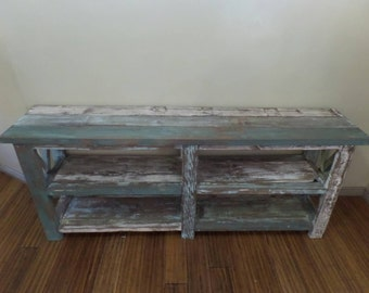 Distressed Sofa Table