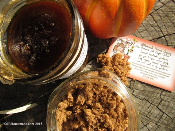 Organic Pumpkin Brown Sugar Scrub