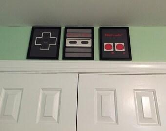 Nintendo Controller Frames