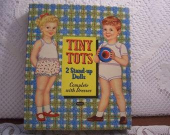 Whitman Tiny Tots Paper Dolls