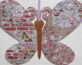 Spring Decor-Summer Decor-Country Chic Butterfly Decor-Kitchen Decor