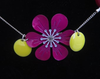 Flower Power Necklace and Earrings
