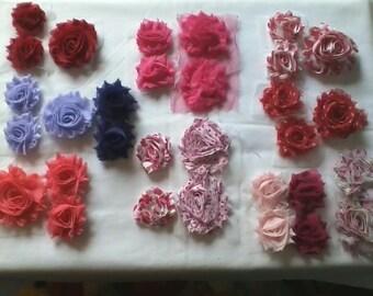 Valentine's Day Shabby Roses and Elastics Grab Bag