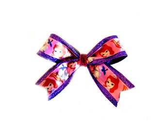 Princess Sofia the First Glitter Bow
