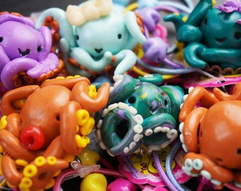 Octopus Brooches
