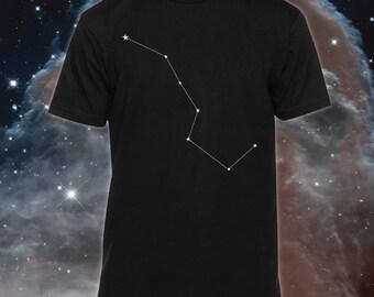 Big Dipper  Shirt (constellation shirt, astronomy shirt, star shirt, star top, big dipper t shirt)