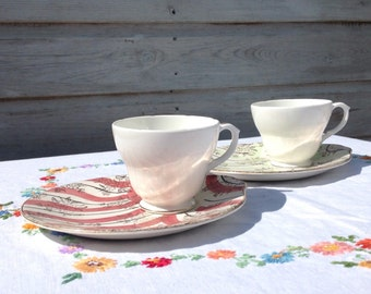 Teacup and plate set