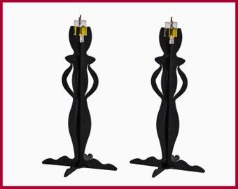 Candlesticks/Candle Holder Stick/Pillar Candle stick Holder/Shabbat Candlesticks/Judaica/Metal Candle Sticks/Candle Holder Centerpiece