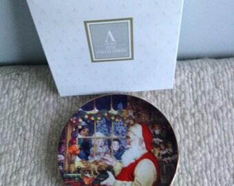 Avon Christmas Plate 1996