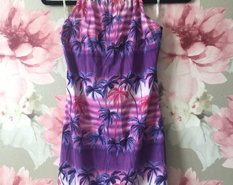 Codeine Palm Tree Dress
