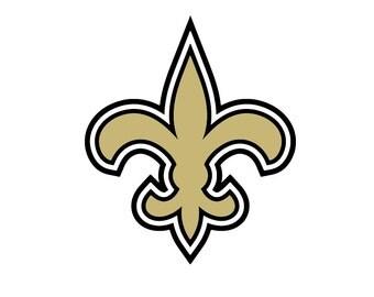 Full Color New Orleans Saints - Die Cut Decal
