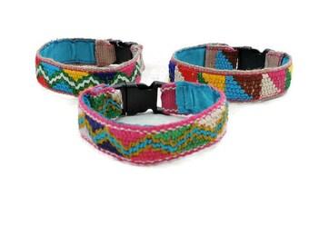 Hippie Bracelet, Fabric Cuff Bracelest, Wrist Cuff, Mexican Bracelets, Ethnic Jewelry, Fabric Jewellery, Boho Kids, Festival Jewelry