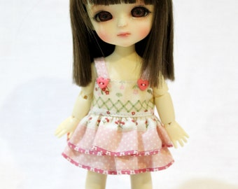 Dress With Bow For Lati Yellow / Pukifee Outfit #L018
