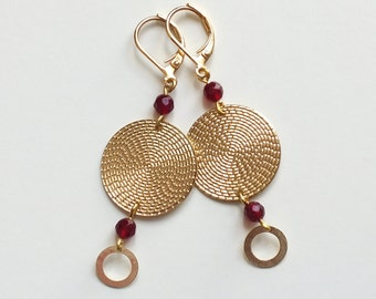 "Earrings ""Lotus"" // Tan Tao Jewels"