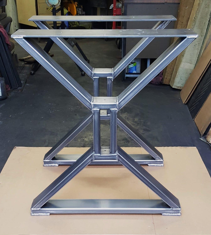 Modern Dining Table X Legs Model Tts09c Heavy Duty