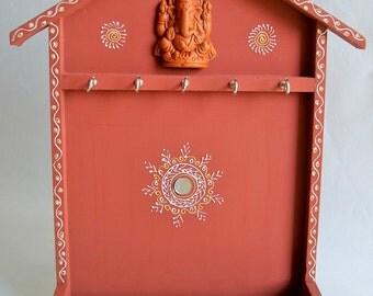 Key Holder Handmade rajasthani traditional Wooden gift