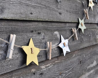 Personalised Star Bunting - Artwork Display